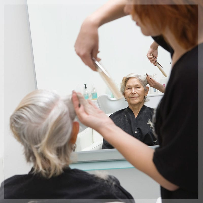 gray hair can be a goldmine for most hair professionals.